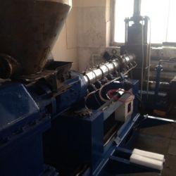 Переработка полимеров, производство гранулы 1