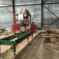 Производство по переработке леса - пилорама 1
