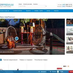 Действующий интернет-магазин мебели (сайт и домен) 1