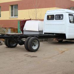 Переоборудование грузовиков. Производство 2