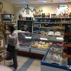 Магазин продуктов из Армении в проходном месте 1