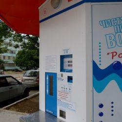 Автоматизированный киоск для бесперебойной продажи воды в тару покупателя