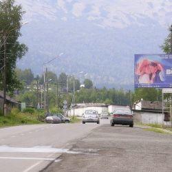 Рекламные щиты в Шерегеше 2