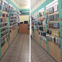 Магазин аксессуаров и ремонта мобильных устройств 2