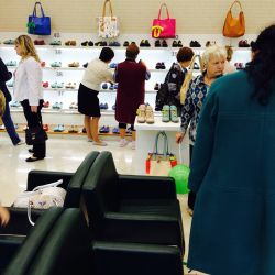 Розничная сеть магазинов женской обуви