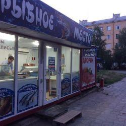 Магазин морепродуктов, проходное и проездное место 2