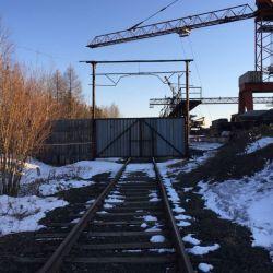 Производственная база, подъездной ж/д путь 4