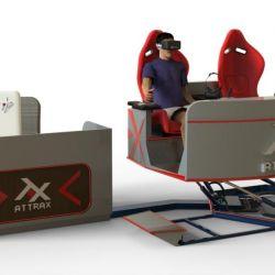 Аттракцион VR для двоих - новейший аппарат на платформе с шестью степенями свободы 2