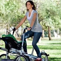 Прокат уникальных велосипедов для мам и малышей