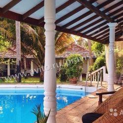 Отель на Шри-Ланке на берегу Индийского океана