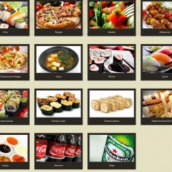 Бизнес по производству и доставке готовой еды пиццы суши