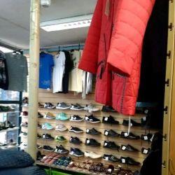 Магазин обуви/ одежды в ТЦ с товаром (10 лет) 1