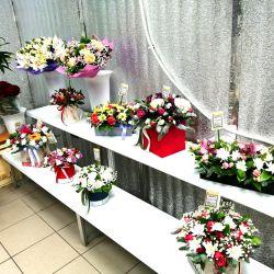Магазин цветов. Работает 3 года. Активы 590.000 р. 4