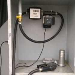 Контейнерная автозаправочная станция для реализации дизельного топлива