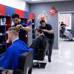 Мужская парикмахерская франшизы