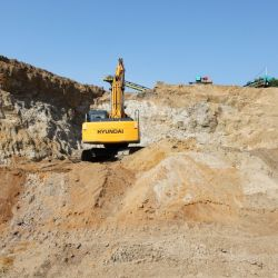 Карьер кварцевого песка и керамической глины в Воронежской Области