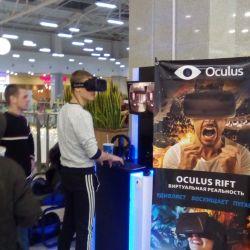 Действующий аттракцион виртуальной реальности Oculus Rift DK2