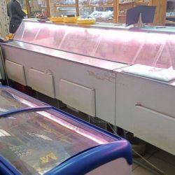 Торговый отдел под мясо и рыбу в высокопроходимом месте 4