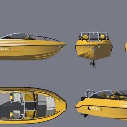 Матрица (оснастка) катера Arctic 510 4