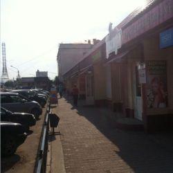 Кирпичный торговый павильон