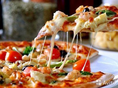 Приготовление и доставка суши и пиццы