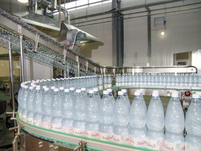 Производство по розливу минеральной воды