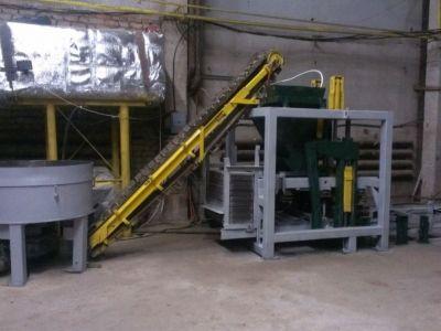 Цех по производству керамзитоблоков