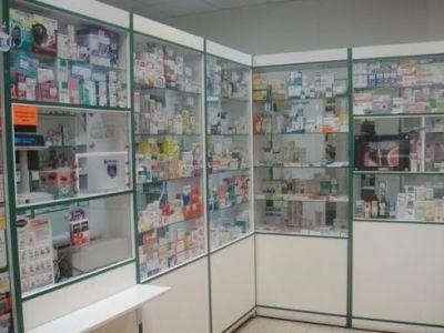 Аптечный пункт в строящемся жилмассиве