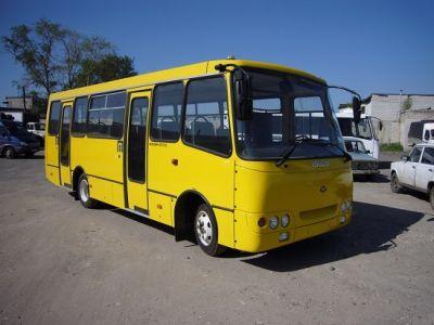 Автобусы на городском маршруте