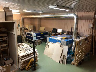 Продам готовое производство изделий из дерева