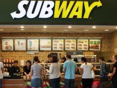 Сеть ресторанов быстрого питания subway
