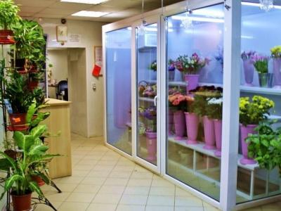 Готовый магазин Цветы