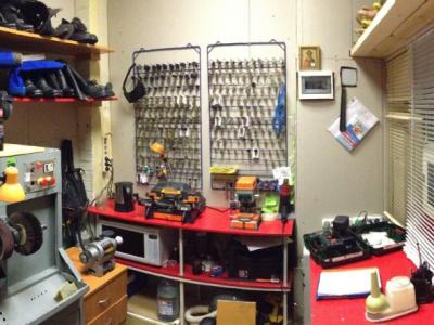 Готовый бизнес, ремонт обуви, изготовление ключей