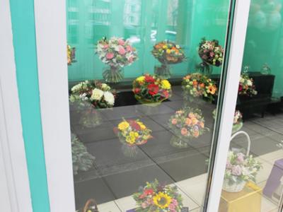 Цветочная база в центре Москвы