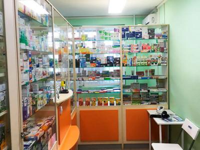 Аптека в строящемся районе Москвы