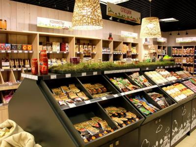 Популярный магазин здорового питания