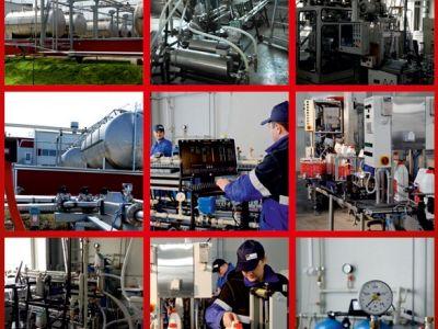 Оборудование для производства Тосола, Антифриза, теплоносителя, стеклоомывающей жидкости, автошампун