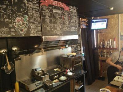 Стильное кафе авторской кухни