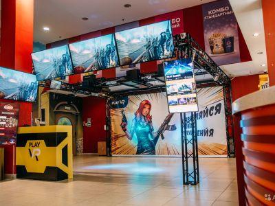 Игровая зона виртуальной реальности PlayVR