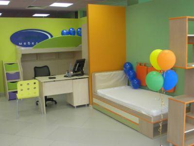Магазин детской мебели с высокой проходимостью