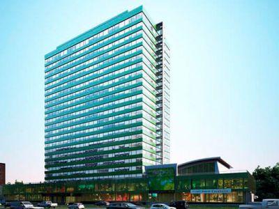 Торгово — офисный центр в МО — 18 этажей