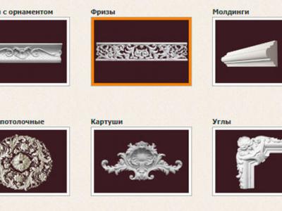 Производство гипсового декора (лепнина)