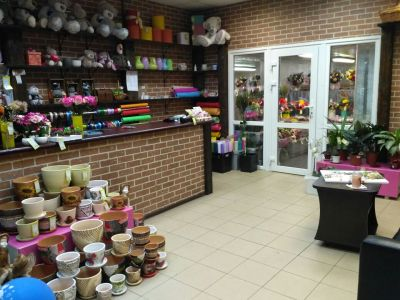 Салон цветов и подарков