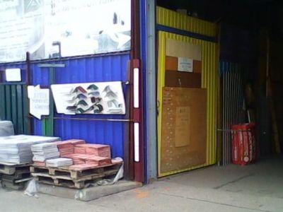 Торговое место на строительном рынке