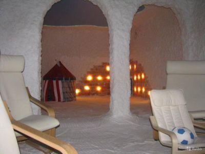 Галоцентр - природная соляная пещера в Кемерово