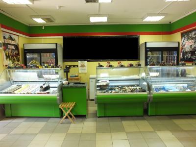 Рыбный магазин