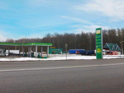 АЗС 99 КМ Киевское шоссе М3, Фед. трасса, земля в собственности
