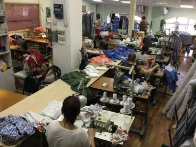 Швейное производство с клиентами и прибылью
