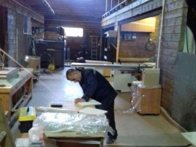 Производство мебели, фасадов. Моллирование стекла