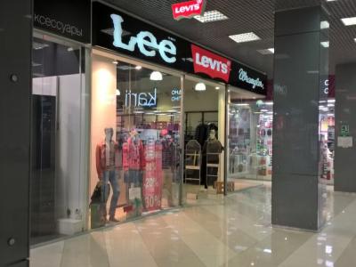 Магазин одежды Levis LEE Wrangler